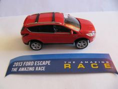 """GREENLIGHT 1:64 HOLLYWOOD MOVIECARS – 2013 FORD ESCAPE from the movie """"THE AMAZING RACE""""   Your #1 Source for Toys and Games"""
