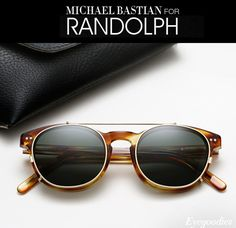 Michael Bastian for Randolph Engineering Sunglasses