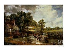 The Haywain, 1819 Art Print by John Constable at Art.com