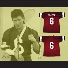 e3ede00f8ce Saved By The Bell AC Slater Bayside Tigers Football Jersey New