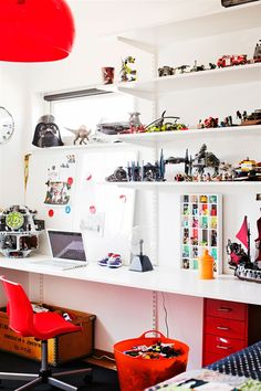 Collections and work space.