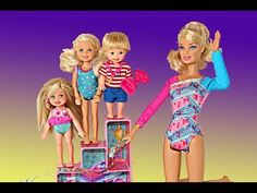 Frozen Barbie Gymnastics Competition Part 2 Elsa Kids Chelsea Doll Gymnast Set Parody DisneyCarToys