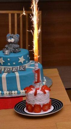 Dort k prvním narozeninám /Recepty  ProMaminky.cz Cake, Desserts, Food, Tailgate Desserts, Deserts, Kuchen, Essen, Postres, Meals