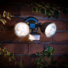 This stylish, motion-sensor security wall light will increase visibility and security to your doorway, property or garden. With 36 super bright, white LED lights. Solar powered. Eco friendly Solar powered system.   eBay!