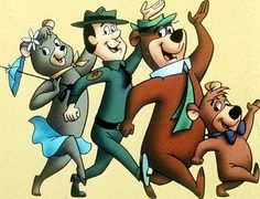 "Yogi Bear! ""Hey Boo Boo, let's go get some picanick baskets..."" ""Smarter than the average bear..."""