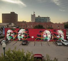 The Cherokee Nation stand tall in Fort Smith with this stunning mural from New…