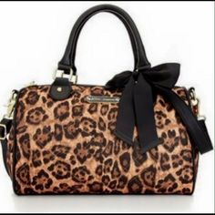 "SALE! NWOT Betsey Johnson animal print bag SALE!! NWOT Betsey Johnson large animal print bag.  This bag is super cute & fun!! Measures 11 1/2"" in length & 9"" in height Betsey Johnson Bags"