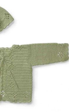 Lapsen virkattu jakku Novita Cotton Mercerized (arkistomalli) | Novita knits Knits, Sweaters, Baby, Handmade, Cotton, Fashion, Moda, Hand Made, Fashion Styles