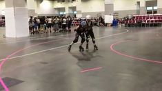 Let's take a look at the clever one foot absorption trick that we picked up from Blizzard of Bristol Roller Derby and Team Finland . Roller Derby Drills, Roller Derby Skates, Quad Skates, Roller Skating, Oh Captain My Captain, Drill Driver, Train Hard, Basketball Court, Workout