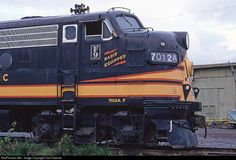 RailPictures.Net Photo: NP 7012A Northern Pacific Railway EMD F9(A) at Mineral, Washington by Tom Farence