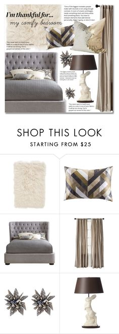 """""""I'm thankful for my comfy bedroom"""" by addorajako on Polyvore featuring Nordstrom, Threshold, Alexis Bittar, Barbara Cosgrove, bedroom and imthankfulfor"""