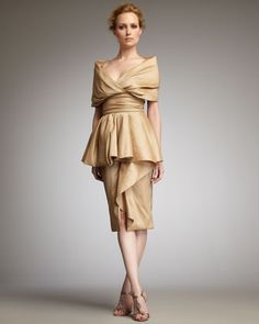 Skirt suit, Pink champagne and Belted dress on Pinterest