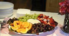 #babyshower ideas #fruit tray
