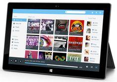 Music App For Windows 8 by Sanjay Makasana, via Behance
