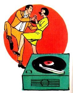 Welcome to Vinyl CoNNection! I'm crazy about anything relating to vinyl. I dig old record. Rock Roll, Kitsch, Home Music, Design Observer, Illustrations Vintage, Music Machine, Music Illustration, Vinyl Junkies, Record Players