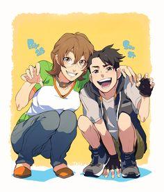 "TKG (火の国の民) on Twitter: ""※Age swap Shiro 14 years old Pidge 25 years old…"