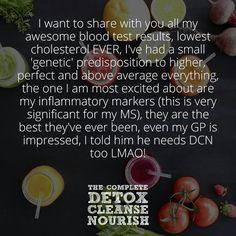 Changing lives... #makingadifference www.detoxcleansenourish.com