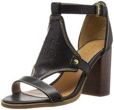 91856c516e875 Tommy Hilfiger Women s Pierpont Heeled Sandal. Block heel sandal. Women s  Shoes