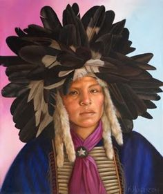 A Time of Honor- mandan headdress