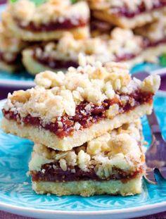 prajitura-cu-gem Romanian Food, Romanian Recipes, Cooking Recipes, Healthy Recipes, Sandwiches, Pie, Cookies, Desserts, Sweets