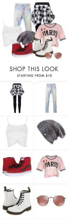 """Lesbian Couple Outfit"" by trashbeanrae ❤ liked on Polyvore featuring James Long, Topshop, Spacecraft, Vans, Stussy, Dr. Martens, Girls, couple and Lesbian"