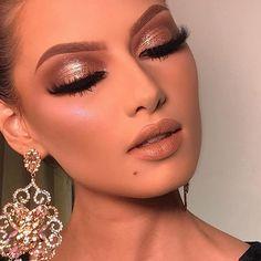 New makeup ideas dramatic eyelashes ideas Glam Makeup, Glamorous Makeup, Flawless Makeup, Gorgeous Makeup, Love Makeup, Skin Makeup, Makeup Inspo, Bridal Makeup, Makeup Art