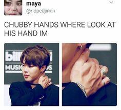 Jimin's hands