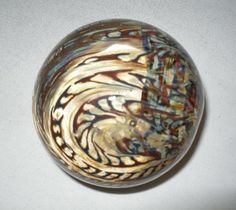 WONDERFUL Signed N*G Jacques ART Glass PAPERWEIGHT Opaline SNAKES Design 1970s