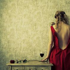 sides of seduction by liliana karadjova Wine Photography, Photography Women, Seduction Photography, Photography Styles, Fantasy Photography, Wine Red Dress, Red Wine, Hippy Chic, Boho Chic