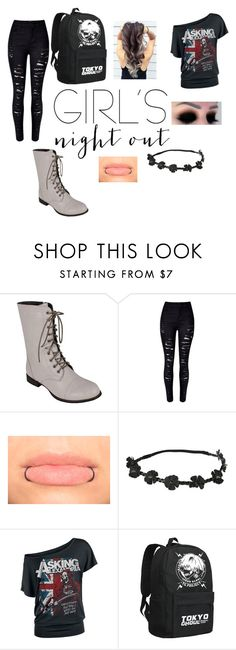 """""""night out with friends"""" by alex-hayze on Polyvore featuring Reneeze, WithChic and girlsnightout"""