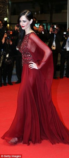 Eva Green at the premiere of The Salvation in Cannes 17.5.2014
