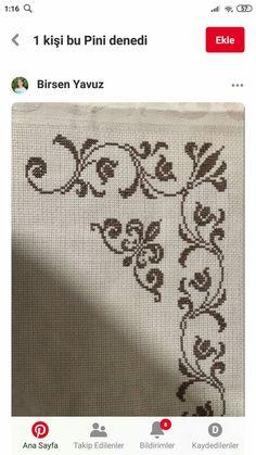 Cross Stitch Designs, Stitch Patterns, Sewing Patterns, Hand Embroidery, Baby Washcloth, Cross Stitch Embroidery, Towels, Craft, Cross Stitch Samplers