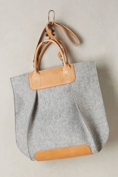 Frankie Pleated Tote by Graf & Lantz #anthrofave #anthropologie