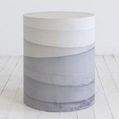 seating - m-material - CEMENT DRUMS