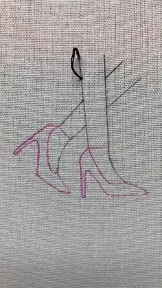 Simple Embroidery Designs, Hand Embroidery Videos, Embroidery Stitches Tutorial, Embroidery Flowers Pattern, Creative Embroidery, Learn Embroidery, Hand Embroidery Patterns, Embroidery On Clothes, Cross Stitch Embroidery