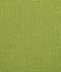 Avocado Green Sultana Burlap--- for curtains, headboard...  dyed burlap  idea adapted from Jonathan Adler