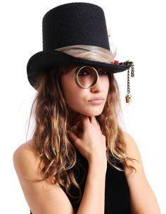 Steampunk Top Hat #Steampunk #behoneybee #funhats