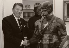 Cap and Reagan