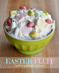 Easter Golden Oreo Fluff Dessert Recipe