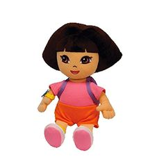 Ty Beanie Baby Dora the Explorer (Styles and Colors may vary): 40327 Features: Dora. Cuddle up with this adorable TY beanie baby. A sure favorite and great for that collector in your life. Dora Toys, Dora And Friends, Original Beanie Babies, Horse Games, Baby Buggy, Dora The Explorer, Hello Kitty Collection, Ty Beanie
