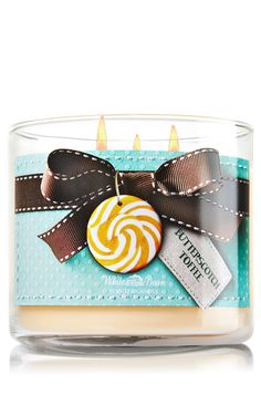 Butterscotch Toffee 3-Wick Candle - Home Fragrance 1037181 - Bath & Body Works