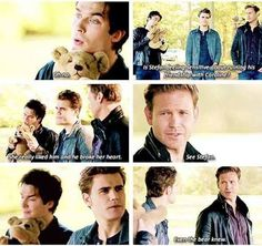 See Stefan...even the bear knew