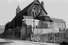 Lost Landmarks - Emmanuel Church where the funeral of Sam Torr (Performer and Manager of the Malt Cross Music Hall) took place. Vernacular Architecture, Unique Buildings, Old English, The St, Nottingham, Funeral, Photograph, England, Lost
