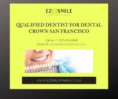 With a dental crown, you are always erring on the side of caution, preventing the loss of truth. Our certified dentist offers Dental Crown San Francisco, Santa Rosa and Napa. If you need any additional information, please contact us at Family Dental Care, Dental Group, Temporary Crown, Porcelain Crowns, Invisible Braces, Dental Fillings, Porcelain Veneers, Dental Crowns, Best Dentist