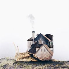 Portuguese Artist Luisa Azevedo Creates Dreamy And Surreal Photo Manipulation – Design You Trust