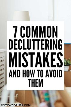 Here are the most common newbie decluttering mistakes. We reveal the biggest decluttering mistakes and solutions to help you avoid them. #decluttering #declutteringmistakes #mytidycorner Office Organization Tips, Organizing Paperwork, Small Space Organization, Organising, Declutter Your Home, Organize Your Life, Downsizing Tips, Scratched Wood, Pots And Pans Sets