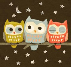 free downloadable owl calendar... the sweetest thing!