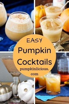 Easy Pumpkin Cocktails for the Perfect Fall Party Pumpkin Martini, Pumpkin Cocktail, Pumpkin Drinks, Pumpkin Smoothie, Cranberry Pumpkin Recipe, Pumpkin Recipes, Pumpkin Spice Coffee, Spiced Coffee, Raspberry Smoothie