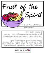 Fruit of the Spirit Game