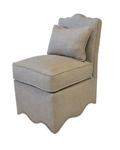 Oomph - scallop slipper chair